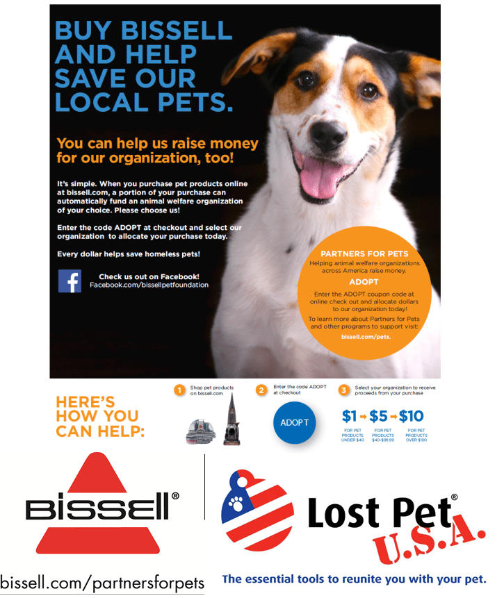 Bissell Pet Foundation  2015
