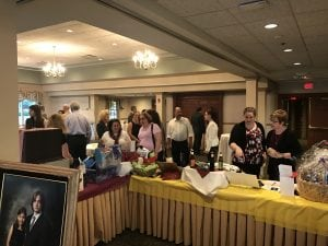 Silent Auction in action!